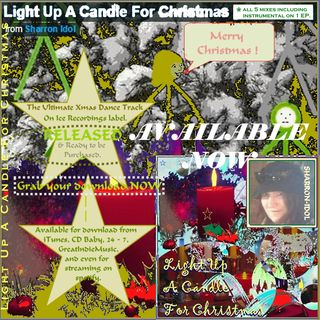 Light Up A Candle For Christmas