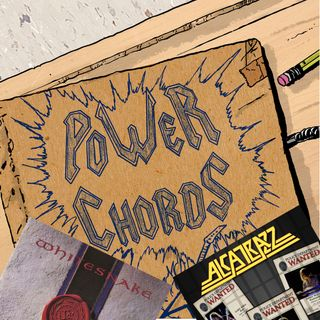 Power Chords Podcast: Track 30--Whitesnake and Alcatrazz