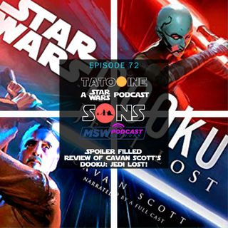 SPOILERS! Review of Dooku: Jedi Lost by Cavan Scott
