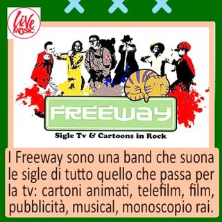 Silvio Freeway Cover Sigle Tv Cartoni Animati 31 gennaio 2020