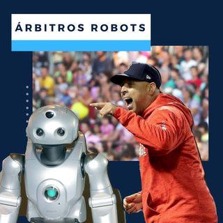 Arbitros robots en el baseball