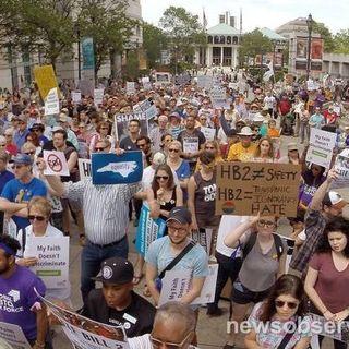 54 Protesting North Carolina's Anti-LGBT Law Arrested