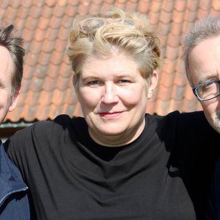 Jonathan Lindström, Camilla Lif och Göran Everdahl