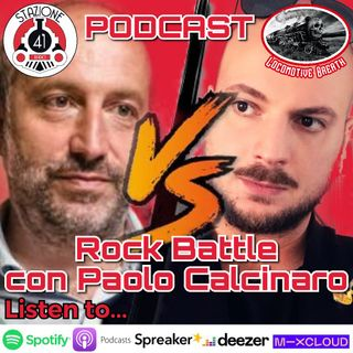 ROCK BATTLE con Paolo Calcinaro