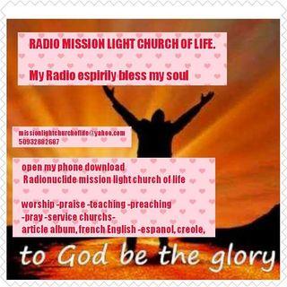 Radio mission light