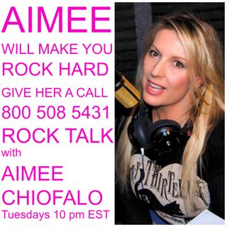ROCK TUESDAYS with AIMEE CHIOFALO 10 PM