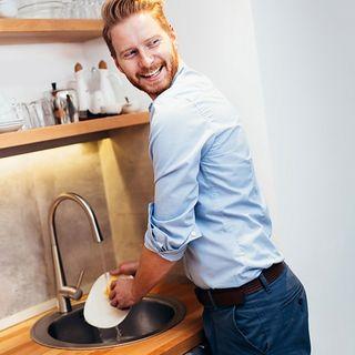 #milano Il bello di lavare i piatti