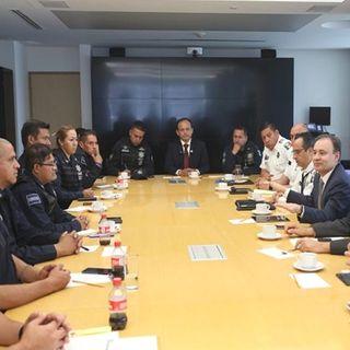 Durazo ratifica acuerdos con policías federales