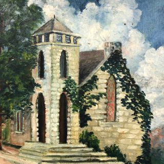 April 21, 2019 Easter Service, First Presbyterian Church, Eureka Springs