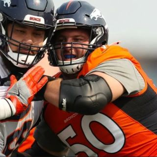 Concerning O-Line Play at Broncos Camp   Early Takeaways   w/ Mike Evans