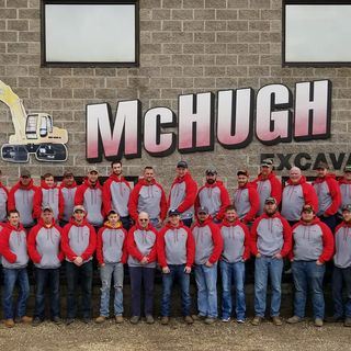 E12 McHugh Excavating proud employees core values