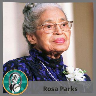 Lidia Páez con Rosa Parks