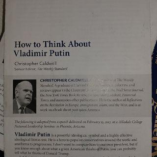 Vladimir Putin...Friend or Foe?