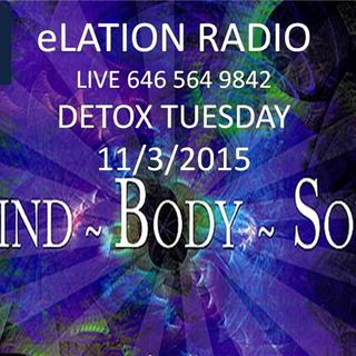 Detox Tuesday with Sister Michelle Edmonds and Pastor Smith