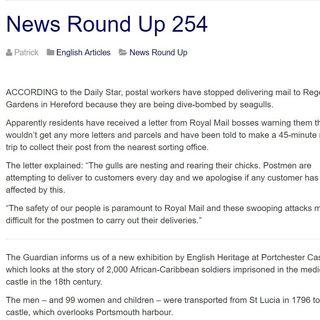LEN - News Round Up 254
