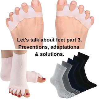 Lets talk about feet. Prevention adaptation and solutions part 3