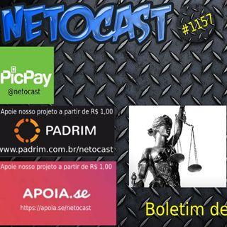 NETOCAST 1157 DE 03/06/2019 - BOLETIM DE DIREITO