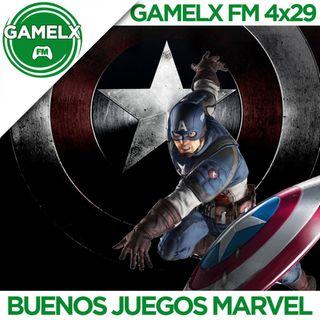 GAMELX FM 4x29 - Buenos Juegos de Marvel (Especial estreno Capitán América Civil War)