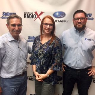 SIMON SAYS, LET'S TALK BUSINESS: Jill Edwards with Wells Fargo and Chris Willis with Willis Mechanical