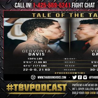 ☎️Gervonta Davis vs Yuriorkis Gamboa For WBA Lightweight Title🔥 State Farm Arena in Atlanta❗️