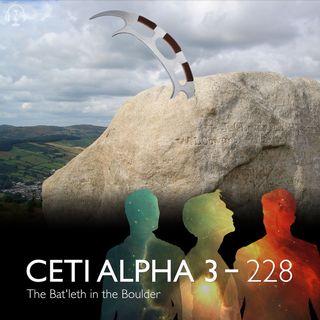 228 - The Bat'leth in the Boulder