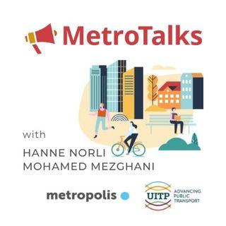 MetroTalks #2 Developing a sustainable metropolitan mobility