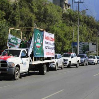 Marchan en 12 estados para protestas contra políticas de Amlo