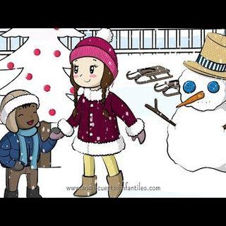 040. El muñeco de nieve  Cuento de Navidad