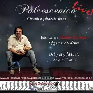 Claudio Zarlocchi è Sfigato tra le donne, live sul nostro #Palcoscenico