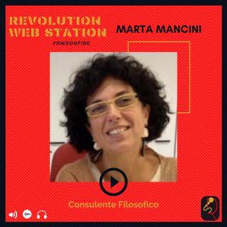 INTERVISTA MARTA MANCINI - CONSULENTE FILOSOFICO