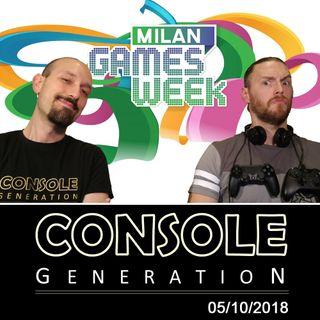 Milan Games Week 2018 e altro! - CG Live 05/10/2018