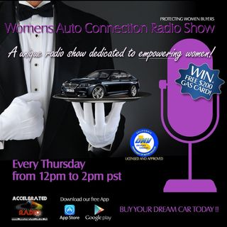Women's Auto Connection Radio Show 6/8/17  W/ Guest Madelon Wallace