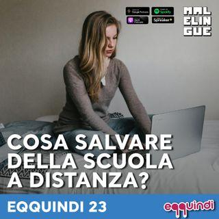 Eqquindi #23 - Cosa salvare della scuola a distanza?