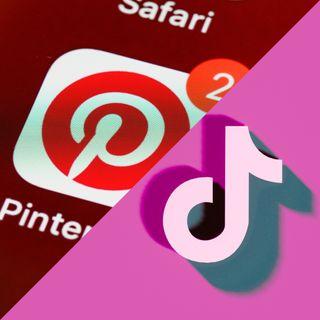 TikTok e Pinterest