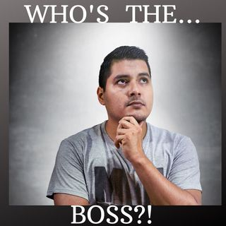 #WHO'S THE BOSS!