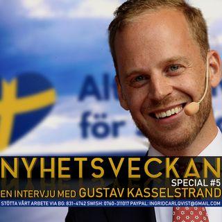 Nyhetsveckan Special #5 – Gustav Kasselstrand mot väggen