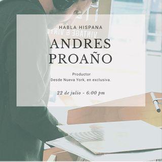 Habla Hispana con Andrés Proaño