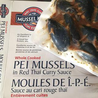 加 • 好品! 推介!!! PEI的青口王 Mussel King Frozen Mussels in Thai Sauce 產品