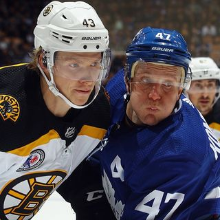 Bruins-Maple Leafs Tale Of The Tape Entering Round 1