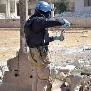 Distruzione dell'arsenale in Siria