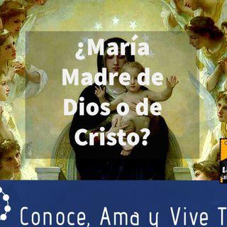 Episodio 148: 🤔 ¿María es Madre de Dios o Madre de Cristo? ✝️