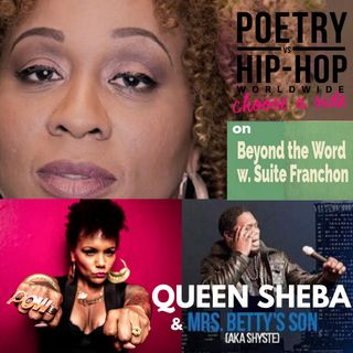 Legendary Queen Sheba Talks Poetry vs. Hip Hop