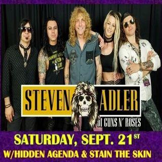 Steven Adler of Guns N` Roses LIVE @ Legends Event Park 9/21!