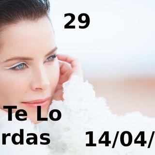 Soralla Arnelas   NTLP 29 (14/04/20)