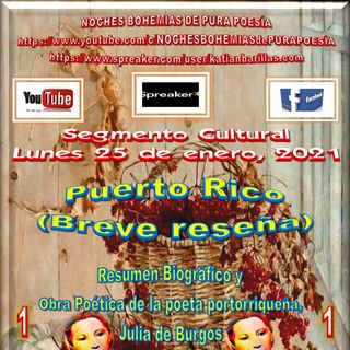 Segmento Cultural NBPP - Lunes 25 de enero, 2021