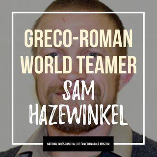Greco-Roman world teamer and past Olympian Sam Hazewinkel - OTM539