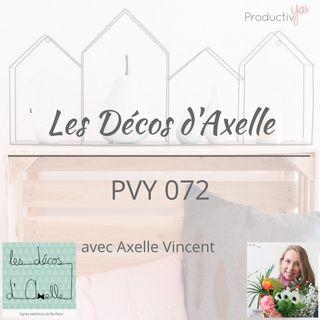 PVY072 Entreprendre avec Les Décos d'Axelle