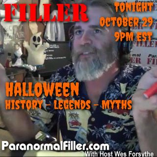 Paranormal Filler Halloween Show