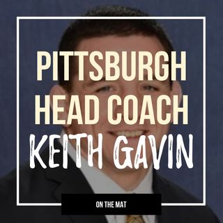 Pittsburgh head wrestling coach Keith Gavin - OTM558