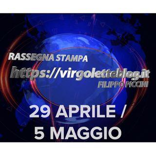 RASSEGNA STAMPA 29 aprile/5 maggio | virgoletteblog.it
